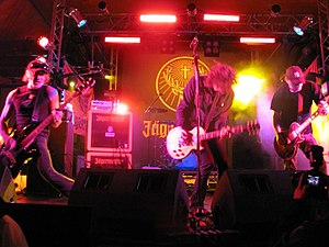 Karma to Burn - Karma To Burn, with new vocalist Daniel Davies at Sonisphere Knebworth 2010.