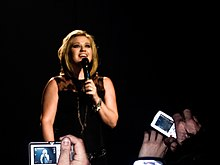 Kelly Clarkson en 2008