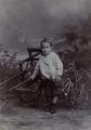 KITLV - 124881 - Stafhell & Kleingrothe - Medan-Deli-Sumatra - European boy, probably at Medan, Sumatra - 1895-1910.tiff