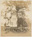 KITLV 10025 - Isidore van Kinsbergen - Cremation Tower (Wadah) at Singaradja - 1865.tif
