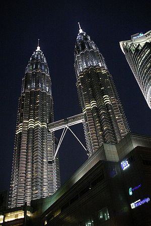 Petronas - The PETRONAS Twin Towers.