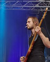 Kadavar (German Psychedelic Rock Band) (Krach Am Bach 2013) IMGP8811 smial wp.jpg