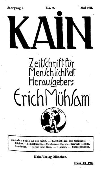 File:Kain – Zeitschrift für Menschlichkeit 1-2.djvu