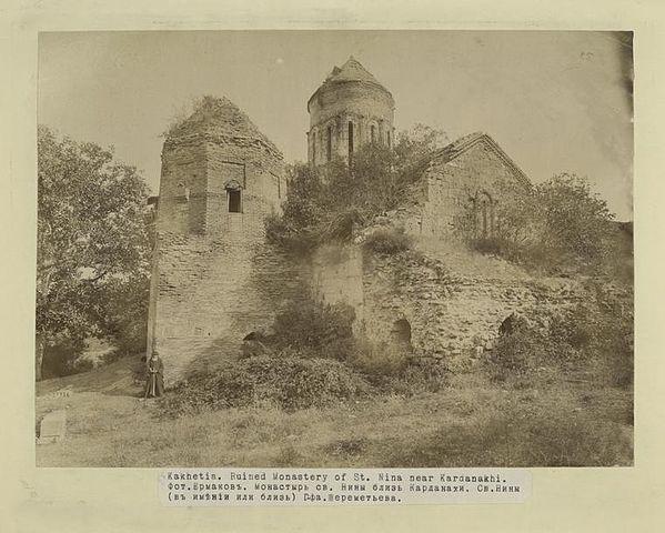 File:Kakhetia, Ruined Monastery of St Nina near Kardanakhi ...
