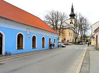 Kamenice nad Lipou - Image: Kamenice nad Lipou, Vackova str