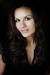 Kara DioGuardi in black hair