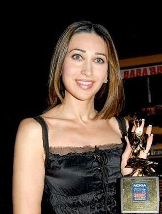 Karisma Kapoor - Kapoor at the Screen Awards where she won the Best Actress award for  Fiza in (2001)