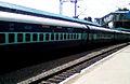 Karnataka Sampark kranti Express at Sitaphalmandi 02.jpg