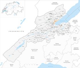 Karte von Grandson