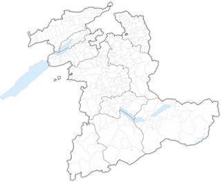 Municipalities of the canton of Bern