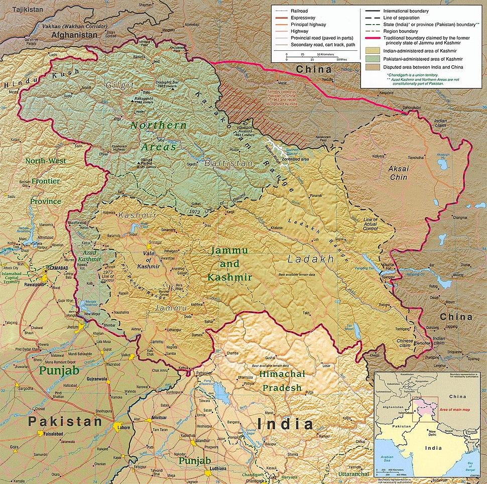 Kashmir region 2004