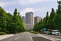 Kasumigaseki view from the Diet front Tokyo01bs3333.jpg