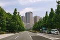 Kasumigaseki view from the Diet front Tokyo01bs3333.jpg