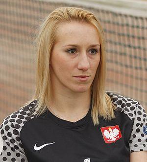 Katarzyna Kiedrzynek - Kiedrzynek with Poland in 2013