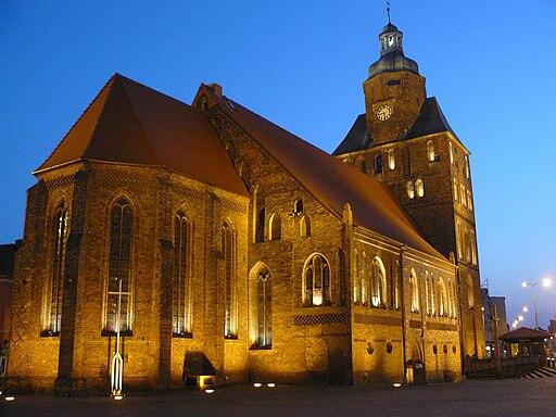 Katedra noca Gorzow Wlkp2