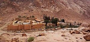 Saint Catherine's Monastery, Sinai, Egypt. Fra...