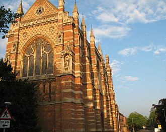 Parks Road - Image: Keble College Chapel from Parks Road