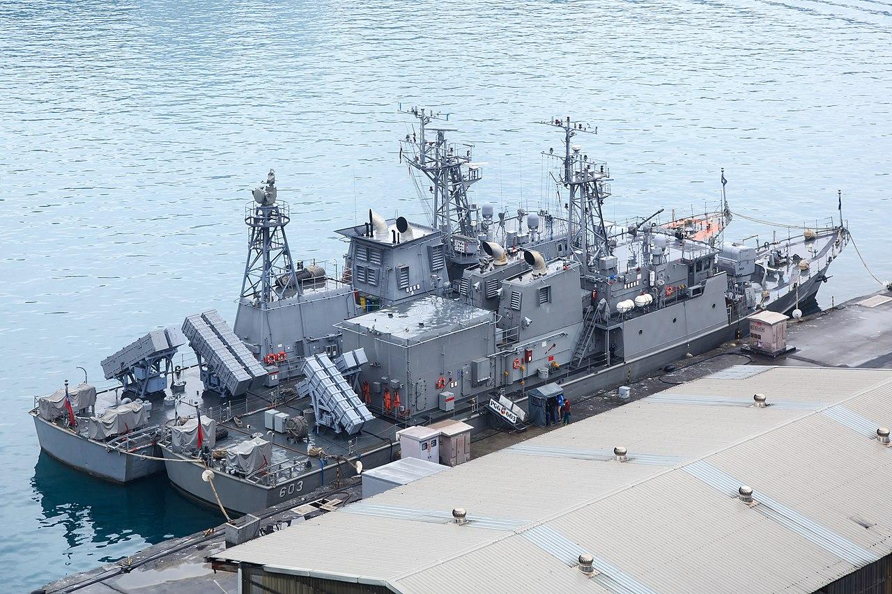 Two China Patrol Ships