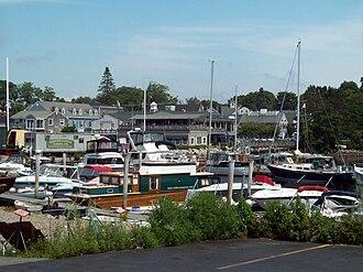 Kennebunkport, Maine - Image: Kennebunkport ME harbor