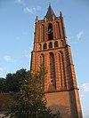 kerktoren van houten