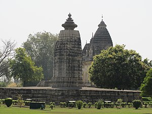Parvati Temple, Khajuraho - Image: Khajuraho India, Parvati Temple 01