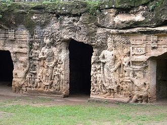 Pudgalavada - Khambhalida Buddhist caves, Gujarat.