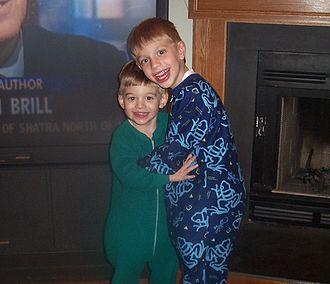 Pajamas - Image: Kids in pajamas