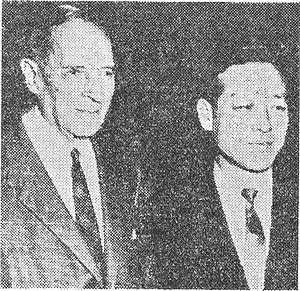 Kim Jong-pil - Kim Jong-pil and Douglas MacArthur (left)