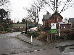 Kimberley (East) railway station (site), Nottinghamshire (geograph 4801715).jpg
