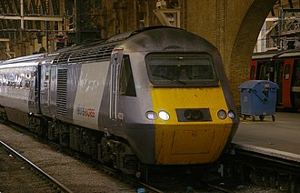 National Express East Coast - Image: King's Cross railway station MMB 13 43238