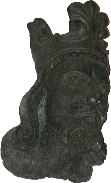 File:King Magnus VI of Norway. Stavanger Cathedral blank.png
