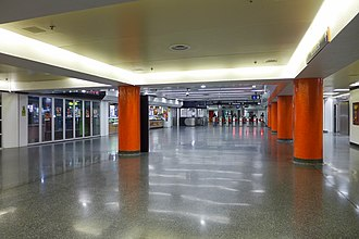 Kings Cross railway station, Sydney - Station Concourse