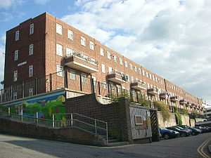 The Kingswood Flats Were Built In 1938 As Part Of Brighton Corporation S Slum Clearance Programme