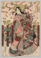 Kitagawa Utamaro - Courtesan - 1940.717 - Cleveland Museum of Art.tif