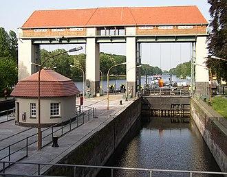 Kleinmachnow - Canal lock