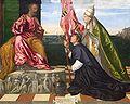 Kmska Titiaan - Jacopo Pesaro bisschop van Paphos voorgesteld door paus Alexander VI Borgia aan de heilige Petrus - 28-02-2010 13-56-55.jpg