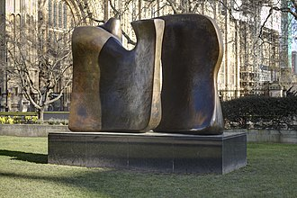 Knife Edge Two Piece 1962–65 - Image: Knife Edge Two Piece Henry Moore
