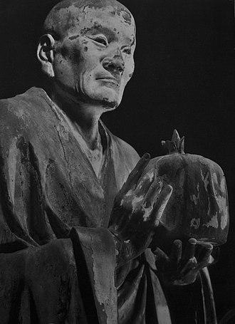 Kei school - Muchaku by Unkei Kōfuku-ji