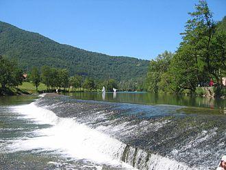 Kupa - Kolpa at Prelesje (Slovenia)