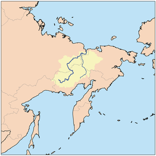 Kolyma region in Siberia