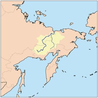Kolyma River - Image: Kolymarivermap