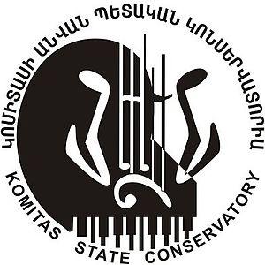 Komitas State Conservatory of Yerevan - Image: Komitas Conserv