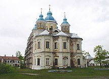 Konevets Cathedral from east.JPG