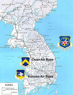 United States Air Force in South Korea