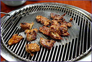 Marinated Galbi Barbecue