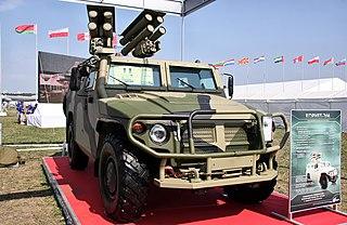 Kornet-D Armoured fighting vehicle