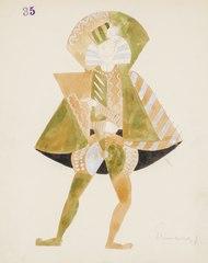 Kostymskiss av Isaac Grünewald - Fiesco