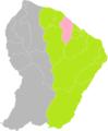 Kourou (Guyane) dans son Arrondissement.png