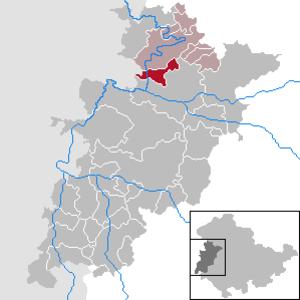 Krauthausen - Image: Krauthausen in WAK