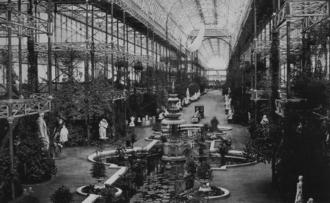 Robert Gordon Latham - Image: Kristallpalast Sydenham 1851 innen